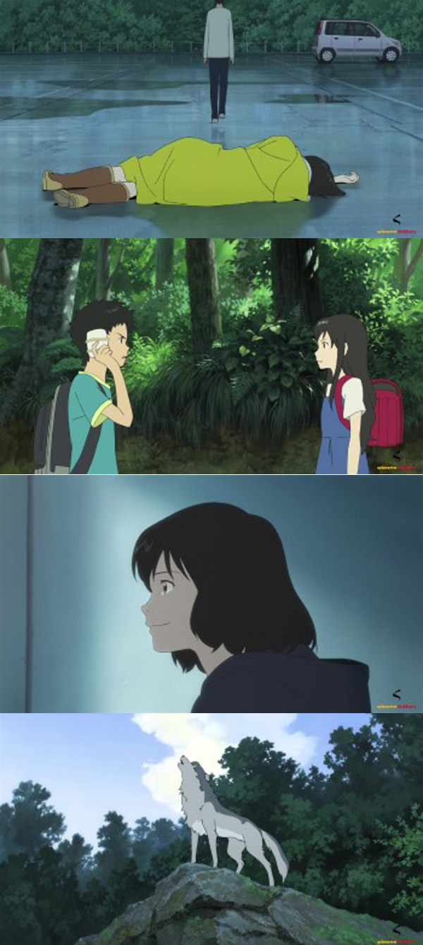Wolf Children 2012 Dual Audio
