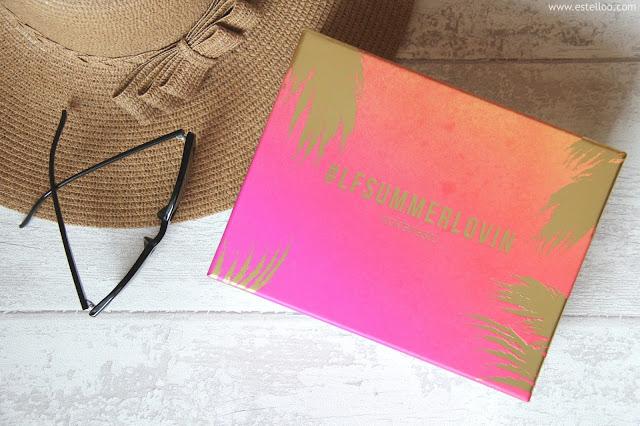 LookFantastic Box, juillet 2016 - Summer Lovin'