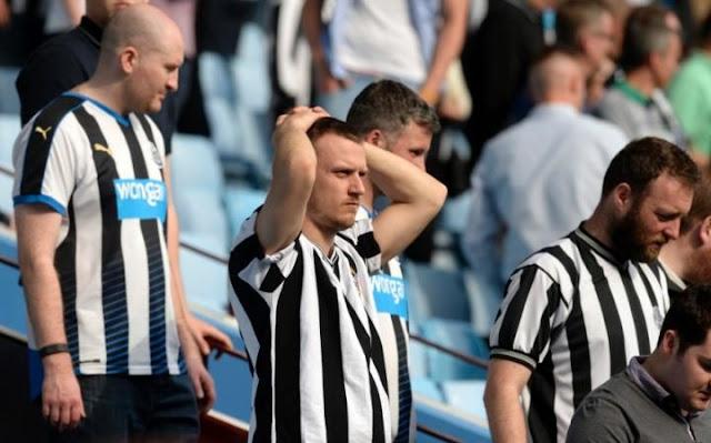 Newcastle demorou para acordar na Premier League, e o rebaixamento foi a consequência