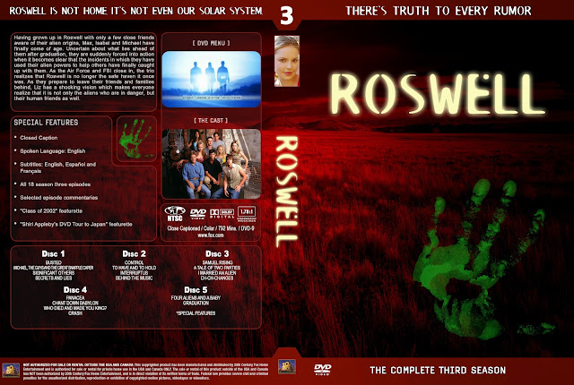 Roswell Season 3 DVD Cover
