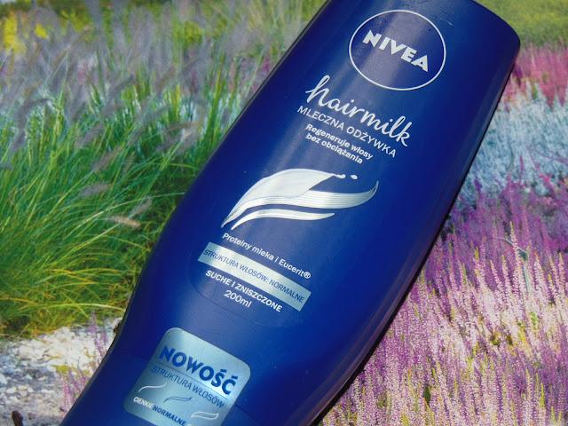 Mleczna odżywka pielęgnująca Hairmilk od Nivea