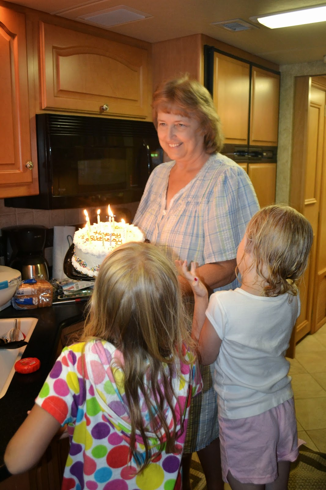 Myrtle Beach Birthday in the Camper