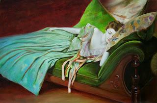 pinturas-de-mujeres-realismo-magico mujeres,cuadros-realistas