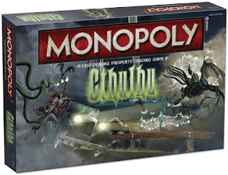 Monopoly Cthulhu board game