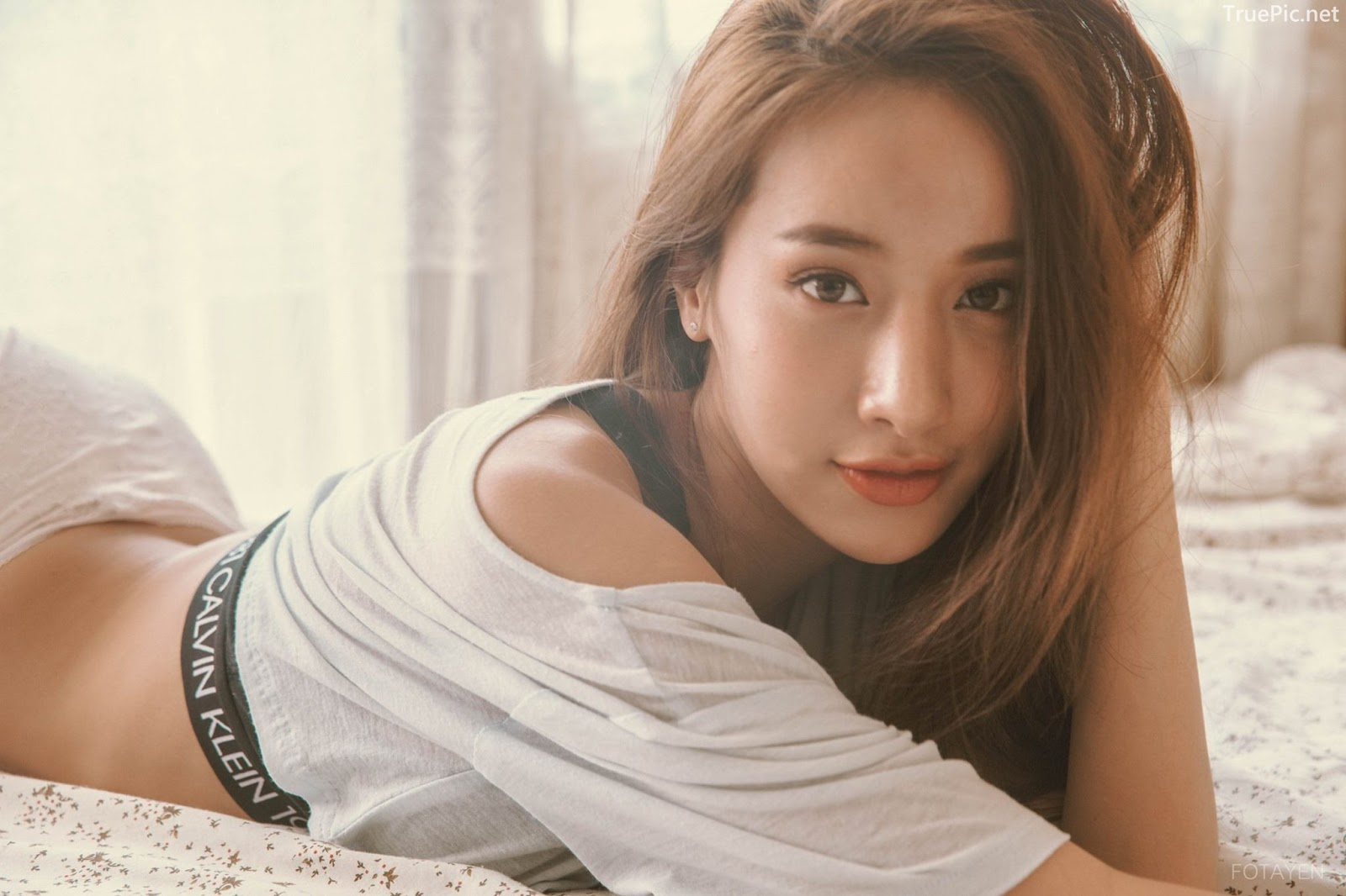 Pichana-Yoosuk-Thailand-hot-model-Good-morning-angel-TruePic.net- Picture-1