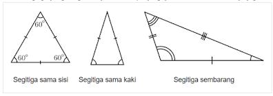 luas segitiga siku siku