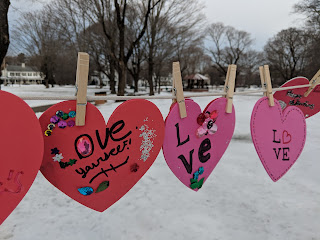 hearts of kindness on the Franklin Town Common 2