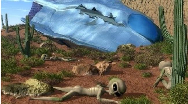 Μια και μοναδική περίπτωση: ένα UFO συνετρίβη με ένα απαχθέν άτομο επί του σκάφους