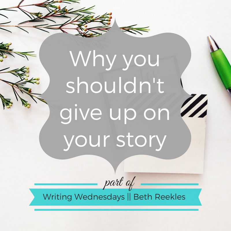 Motivating yourself to keep writing a book can be hard. In this post, I talk about why you shouldn't give up just yet.
