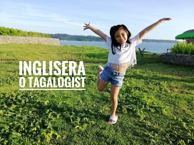 My child speaks more English less Tagalog