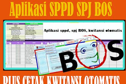 Download Aplikasi SPJ BOS Untuk SD SMP SMA Tahun 2019