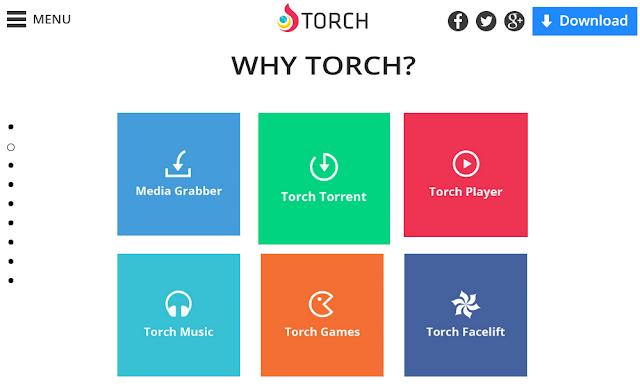 متصفح تورش 2017  Torch Browser