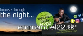 Etisalat 1GB for #200-night plan