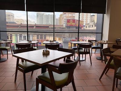 Restaurant dining area, Breakfast buffet, Hilton Garden Inn Kuala Lumpur South