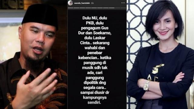 Disindir Wanda Hamidah, Ini Jawaban Mengejutkan Ahmad Dhani
