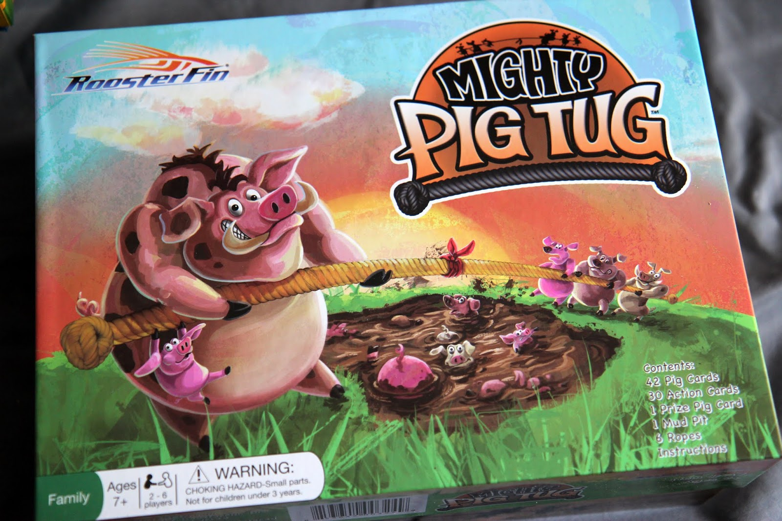 Lille Punkin': RoosterFin Games Review: Mighty Pig Tug