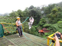Safety First -- And Classic Form (Canopy Cover Ziplining)