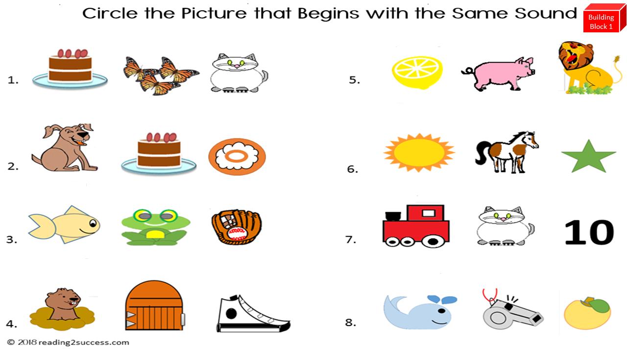 Reading2success: Reading Readiness Skill For Kindergarten - Just