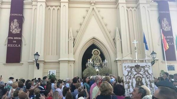 La procesión de la Virgen de Regla de Chipiona reunirá a unas 100.000 personas