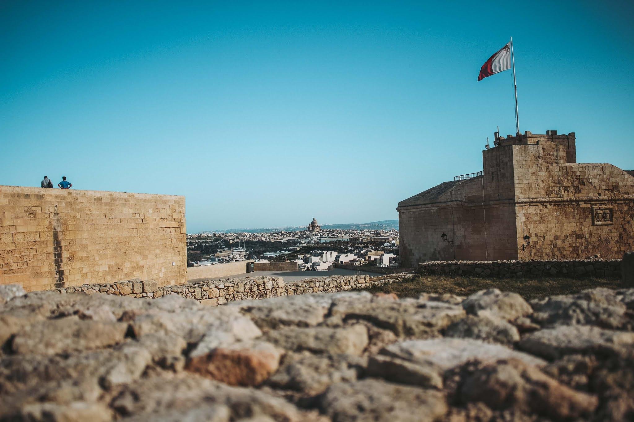 Gozo Rabat Zitadelle