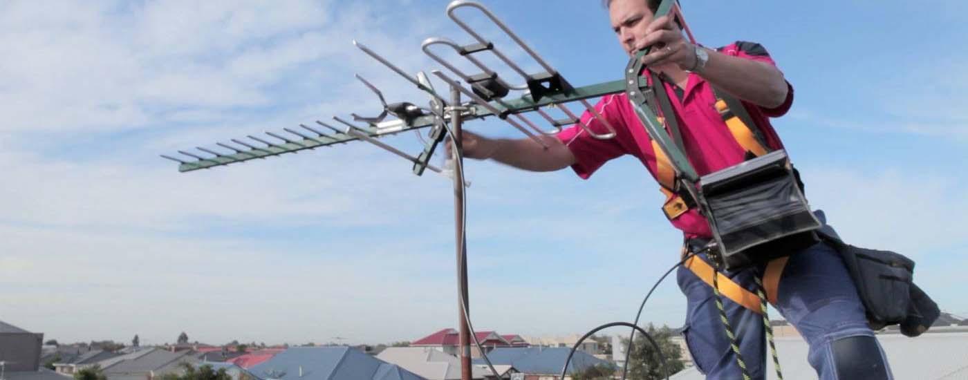 Εγκατασταση κεραιας τηλεορασης στην Πατρα