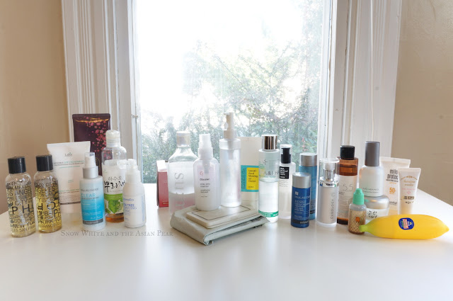 Body care and skin care product lineup