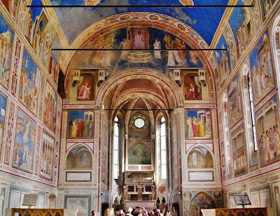 Giotto, Cappella degli Scrovegni, Padova.