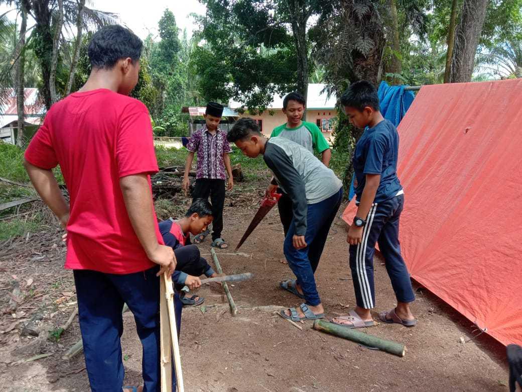 Perkemahan Sabtu Minggu (Persami) MTs Nurul Huda Dayo Tandun Rohul