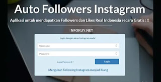 pengikut gratis - situs auto followers instagram