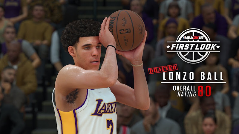 2K Lonzo Ball Shot