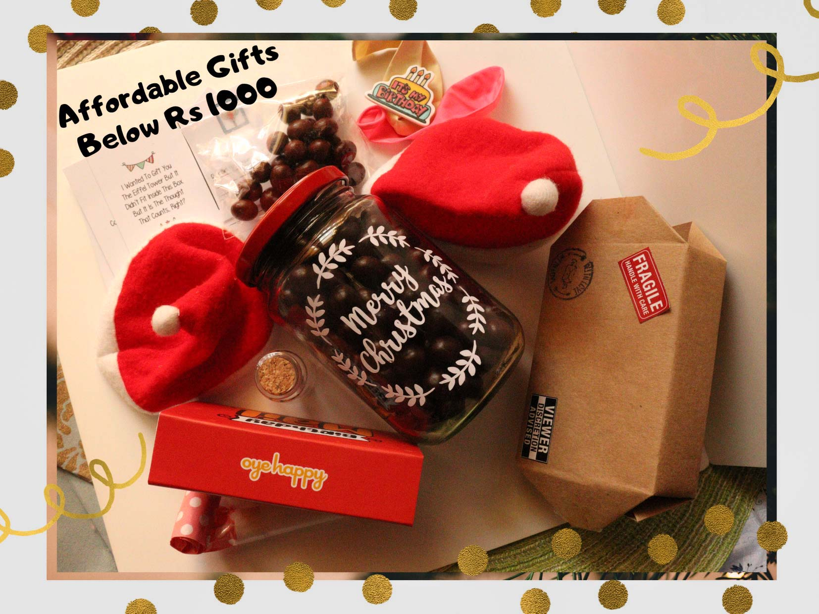 Pick Affordable Gifts Below Rs. 1000