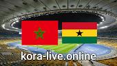 مباراة المغرب وغانا بث مباشر بتاريخ 19-02-2021 كأس أفريقيا للشباب تحت 20 سنة