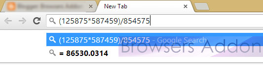 Chrome_google_calculator