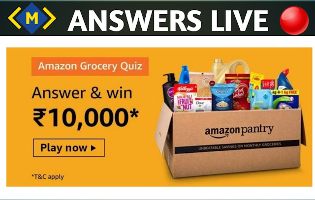 Amazon Grocery Quiz Answers - What Course is the female Protagonist  in the video persuing?