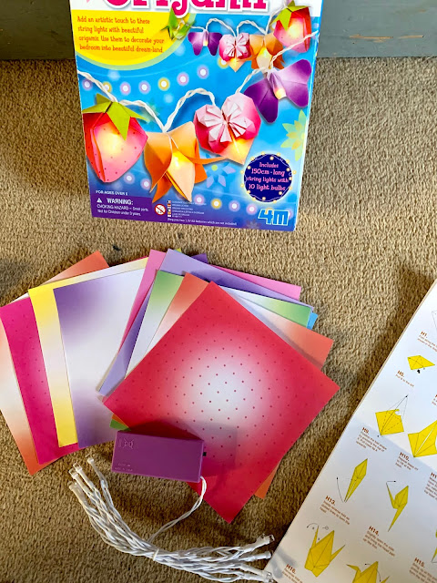 origami fairy lights kit