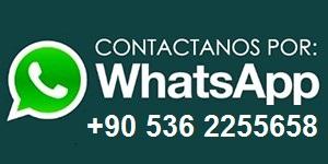 Envienos una mensaje por WhatsApp