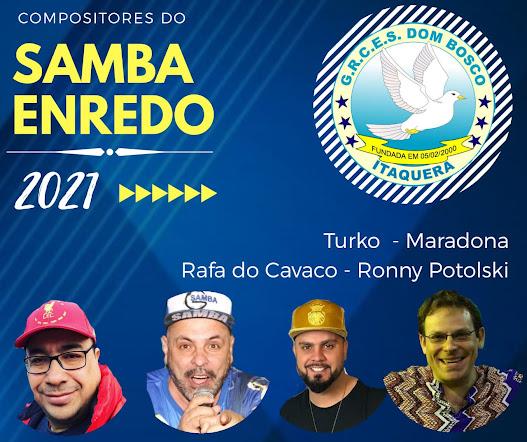 Dom Bosco anuncia parceria que irá compor o samba do próximo carnaval