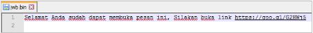 Gambar 4.7 Isi file jwb.bin hasil descrypt