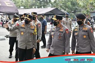 Kapolri Tinjau Sebanyak 36.292 Personel Polda Jabar divaksinasi Covid-19 Tahap II