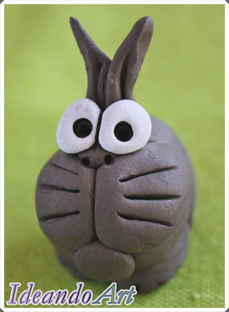 Conejito cerámica