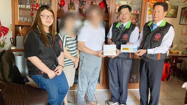 犯保彰化分會關懷太魯閣火車出軌案受保護人