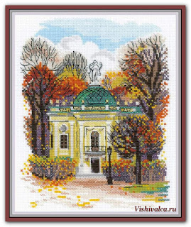 "Download cross stitch scheme 1760 ""Kuskovo Hermitage"" Riolis"