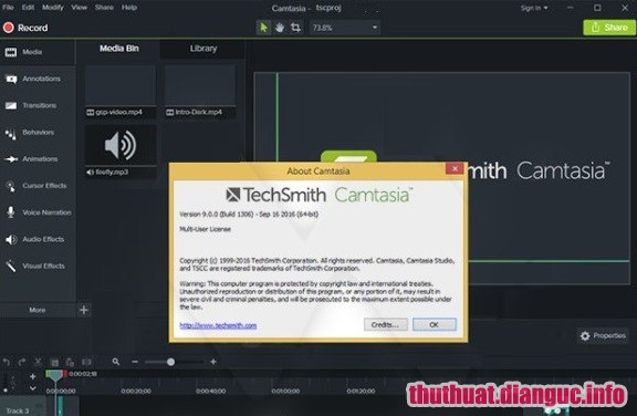Download Camtasia Studio 2019.0.1 Build 4626 Full Cr@ck