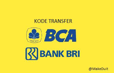 Transfer dari BCA ke BRI Kodenya Berapa?