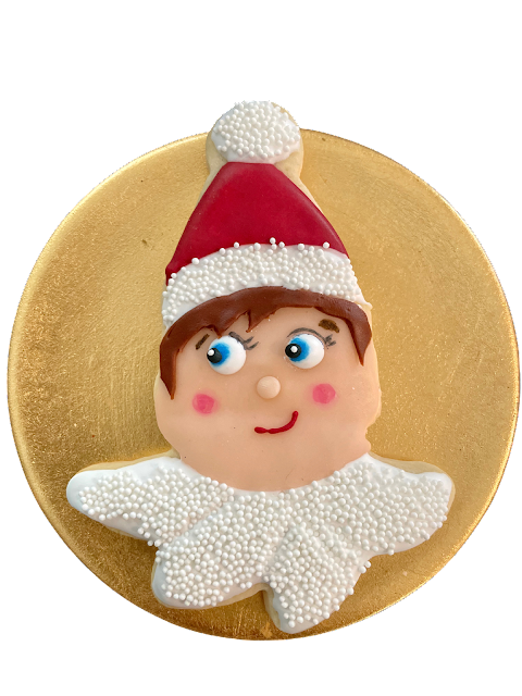 Elf on the shelves cookies @www.thecookiecouture.com