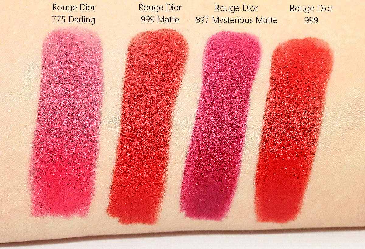 Dior Rouge Dior Swatches Nailderella
