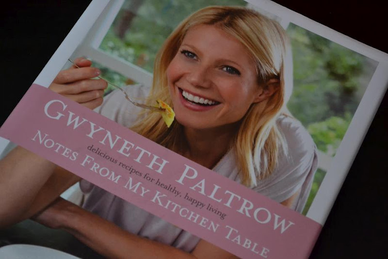 Review Of Notes From My Kitchen Table By Gwyneth Paltrow