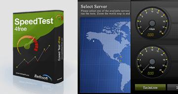 برنامج, Speedtest4free, لقياس, سرعة, الانترنت, مجانا
