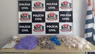 DISE DE REGISTRO PRENDE EM FLAGRANTE INDIVÍDUO COM GRANDE QUANTIDADE DE DROGAS EM SETE BARRAS