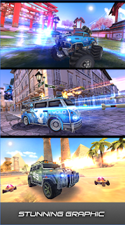 Game Overload: 3D MOBA Car Shooting App